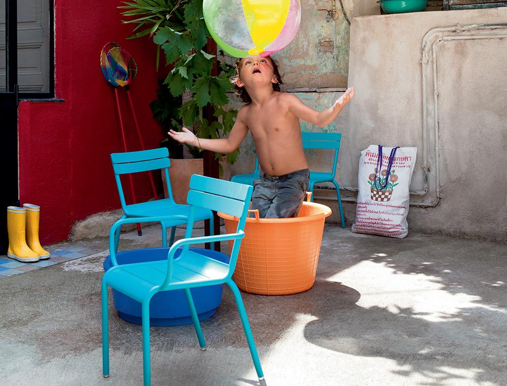 Luxembourg kid, dětská židle s područkami