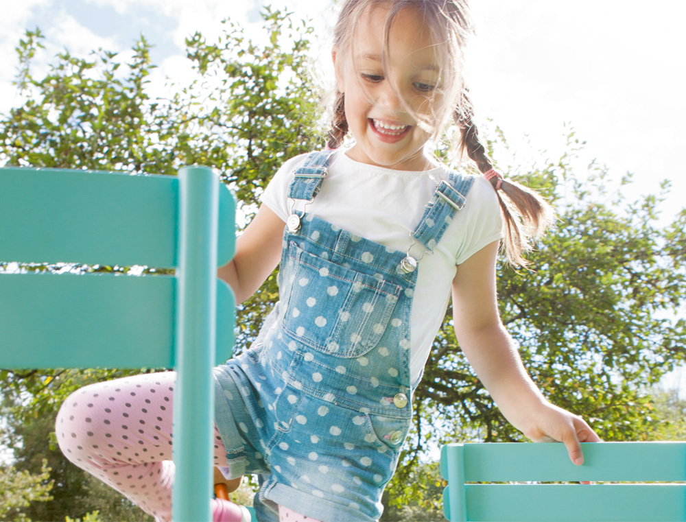 Luxembourg dětská kovová židle