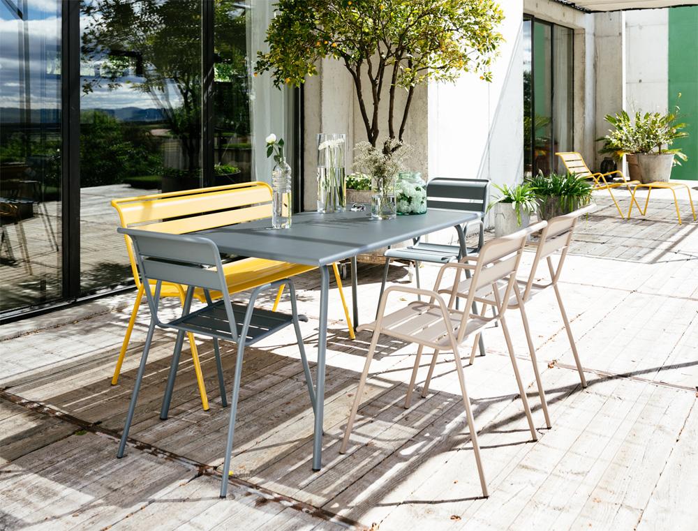 kolekce Monceau zahradní kovový stůl fermob decoform